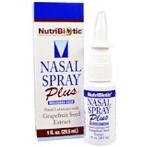 NutriBiotic, 鼻腔噴霧劑,含柚子籽提取物,1液體盎司(29.5毫升)