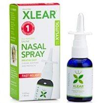 Xlear, 木糖醇鹽水噴鼻劑,快速緩解,1.5液盎司(45毫升)