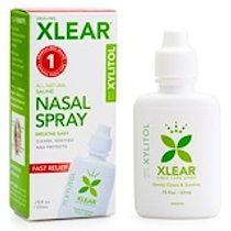 Xlear, 木糖醇鹽水鼻腔噴霧劑,0.75液量盎司(22毫升)