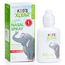 Xlear, 兒童 Xlear,鹽水噴鼻劑,0.75 液量盎司(22 毫升)