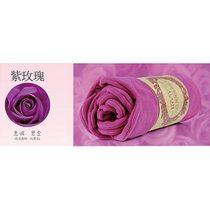 USB玫瑰保暖電熱毯-紫色