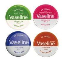 Vaseline 凡士林 護唇膏(圓罐) 20g 多款可選【櫻桃飾品】【24064】