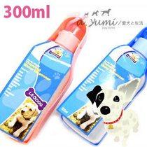 【pet 良品】寵物戶外攜帶式飲水器300ML-3色