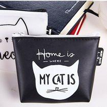 韓國可愛零錢包貓咪矽膠鑰匙包手拿小錢包-黑底貓咪     韓國可愛零錢包貓咪矽膠鑰匙包手拿小錢包-黑底貓咪