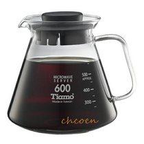 【晨光】Tiamo 耐熱玻璃咖啡花茶壺0.6L(722976)