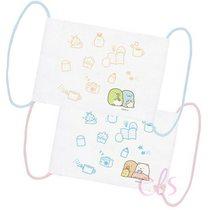 日本SAN-X 角落生物 兒童口罩 粉色/藍色 兩款供選  ☆艾莉莎ELS☆