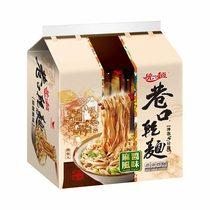 統一麵 巷口乾麵 麻醬風味 (四合一)【愛買】