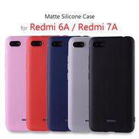 """FIERBUKE silicone cover 5.45"""" TPU case for Xiaomi redmi 6a coque funda on phone"""