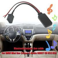 KROAK Bluetooth Adapter AUX Audio for BMW Mini for Cooper S Radio for BOOST CD R53