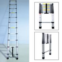 3.2M Multifunctional Portable Aluminium Alloy Telescopic Domestic Folding Ladder
