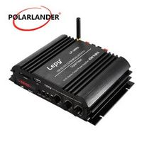 Lepy 4CH output power amplifier 4X45W RMS four channelUSB MP3 SD MMC FM Hi-Fi Mini