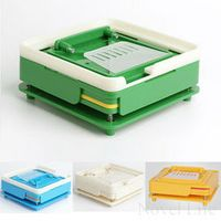 YUPEI 100 Holes Manual Filling Machine Size 0 DIY Pharmaceutical Powder Pills Drugs