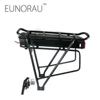 36V 13Ah 1203 rear rack battery for electric bicycle Black 26inch 28inch 700C e Bike