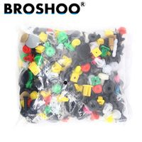 BROSHOO Universal Mixed Auto Fastener Clips Retainer For All Rivet Bumper Audio
