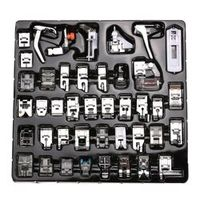42pcs/52pcs Home Sewing Machine Feet Presser Good Domestic Sewing Machine Feet Accessories Kits For Brother Singer Janome
