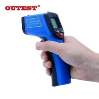OUTEST Non contact Digital infrared thermometer GM531 -50 530C -58 875F 0.1-1.0