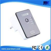 802.11N/G/B 1200Mbps Wireless WIFI Repeater signal amplifier with ON-OFF Support AP Mode