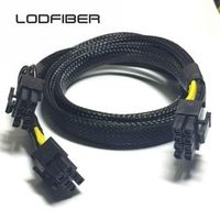 LODFIBER 8pin to 8 6pin Power Cable for DELL R220 and NVI DIA Tesla GPU 35cm