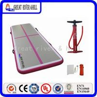 air floor tumble track inflatable air mat for gymnastics inflatable gym tumble track