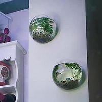 faroot Terrarium Container Home Garden Ball Decor Glass