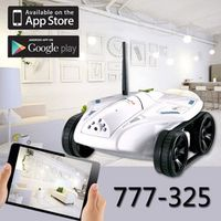 Happy Cow i-Tech Tank 777-325 RC Tank With Camera WiFi Network iphone ipad ipod Controller free shipping