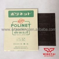 50 pcs/ lot Use Wet Or Dry For Original Japan KOYO POLINET Abrasive Cloth 800# Grit