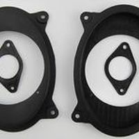 AHHDMCL Speaker Adapter Spacer Horn Pad Mounts For Toyota Camry Reiz 2006 2011 Front