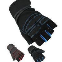 Weight Lifting Gym Gloves Training Workout Fitness Workout Exercise Wrist Wrap