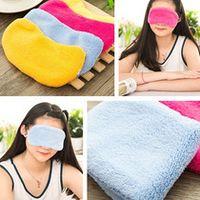 Colorful fortable Sleeping Eye Mask Nap EyeShade soft black-out Blindfold Sleep Eyes Cover Sleeping Travel Rest EyePatch Blinder