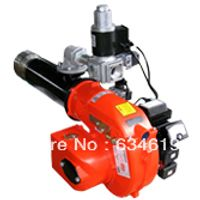 Fast heating 2 two stage diesel fuel fired burner