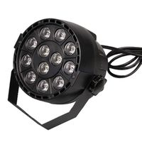 Laimanice 12x3W flat LED Par RGBW DMX512 Disco Lamp stage light luces discoteca laser