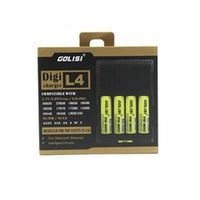 GOLISI G4 Intelligent Digicharger compatible with almost all rechargeable batteries US plug