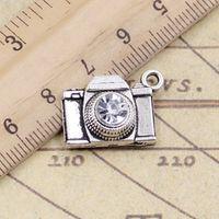 10pcs Charms Camera 20*16mm Tibetan Silver Plated Pendants Antique Jewelry Making DIY Handmade Craft bronze pendant