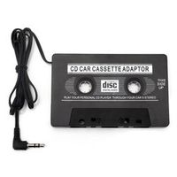 Geartronics 1pcs Audio Car Cassette Tape Adapter Converter 3.5 MM For Iphone Ipod MP3