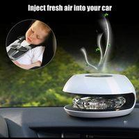 New Indoor Car Solar Air Purifier Aromatherapy Machine Anion Sterilization Anti-formaldehyde Automotive Dispel Odors Purify Air