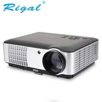 Rigal 2016 Low Cost 2800 lumens Built In Android LED Lamp Beamer Proyector Projector