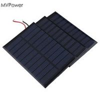 MVpower Portable 5V 160mA 0.8W Bank Battery power charger DIY Module Solar Cell car