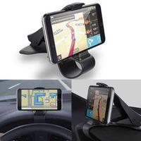 MUQGEW Car Phone Holder Universal Car Dashboard Cell Phone GPS Mount Holder Stand HUD