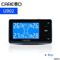 CAREUD U902 Car Tire Pressure Monitoring System Auto Alarm Wireless TPMS 4 External/