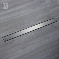 HIDEEP Odor-resistant Floor Drain Cover Rectangle SUS304 Stainless Steel Floor Drain
