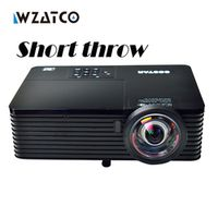 WZATCO 6000Lumens Business meeting Education Daylight Video Full HD 1080P Digital 3D