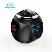 Magicsee V1 360 Action Wifi 2448*2448 Ultra HD Mini Panorama 360 Degree Sport Driving