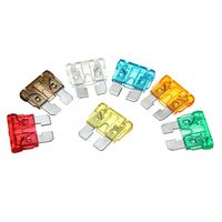 120Pcs/set Assorted Mixed Standard Blade Fuse For Car Auto Vehicle