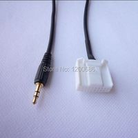 AutoPart 3.5mm MP3 Aux Cable Input Audio Cable Adapter For Toyota Corolla RAV4 Camry