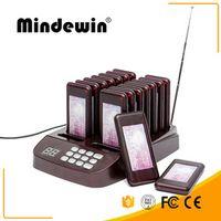 Best Mindewin Restaurant Coatser Paging System 16 Calls Wireless Queue Management