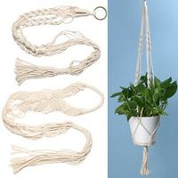 SANGEMAMA Hanger Basket Flowerpot Plant Holder Hanging