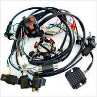 3PCS GY6 Wire Loom Harness Solenoid Magneto Coil Regulator CDI 150cc ATV Quad Bike TA
