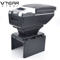 Vtear For Renault logan 2/Megane/twingo box central Store content products interior