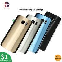OEM Rear Battery Door Case For Samsung Galaxy S7 G930F S7 edge G935F Back Housing