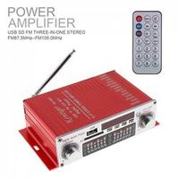 Kentiger HY-602 HI-FI Audio Car Amplifier FM Radio Stereo Player Support SD USB DVD /